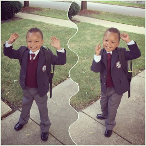 DJ's First Day of School